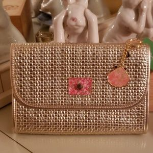 Lilly Pulitzer Spring Fling Woven Design Clutch